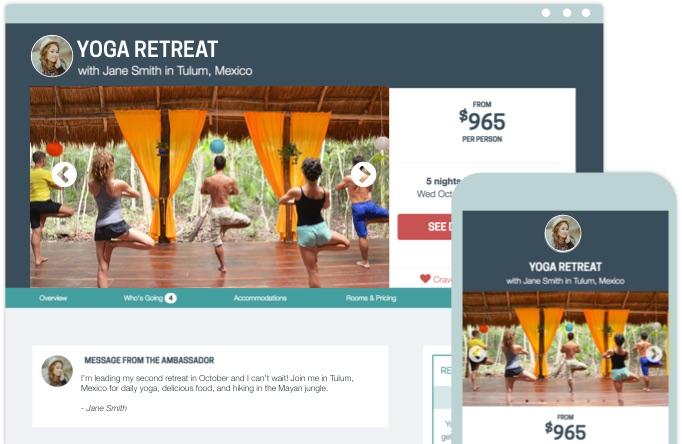Trip Tribe Retreat Page