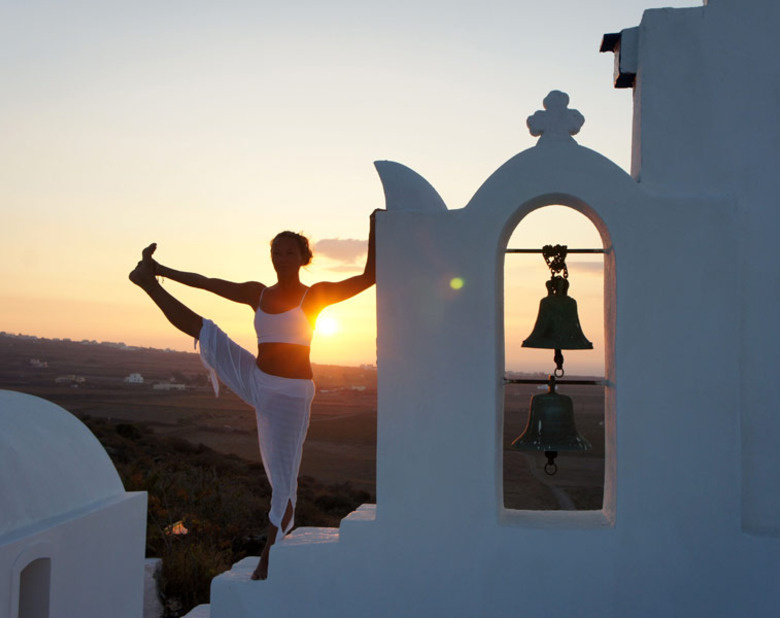 Be. By the Sea. A Santorini Yoga Retreat